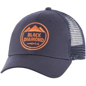 Black Diamond Trucker Hat Captain-Redwood